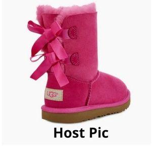 UGG K Bailey Bow II 1017394K Pink Azalea